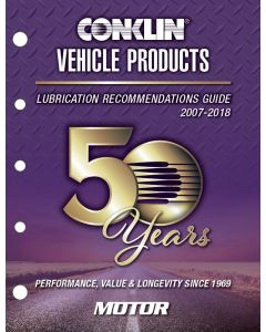 Limited Edition Conklin 50th Anniversary Lubricants Recommendations Guide