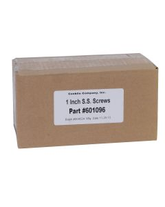 Hex Head S.S. Screws 1""