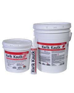 Kwik Kaulk® Acrylic Caulking Compound - White